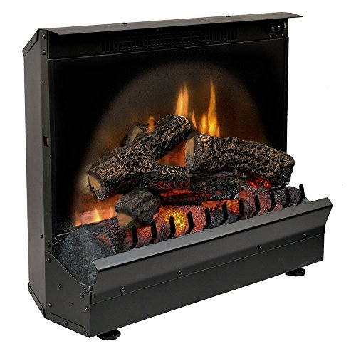 dimplex electric fireplace heater insert in black finish from dimplex - Electric Fireplace Heaters