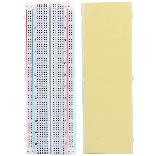 Solderless Breadboard Bread Board 830 Tie Points Contacts