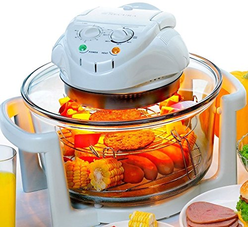 Homegear Dual Power 12 Litre Halogen Convection Mini Oven Cooker
