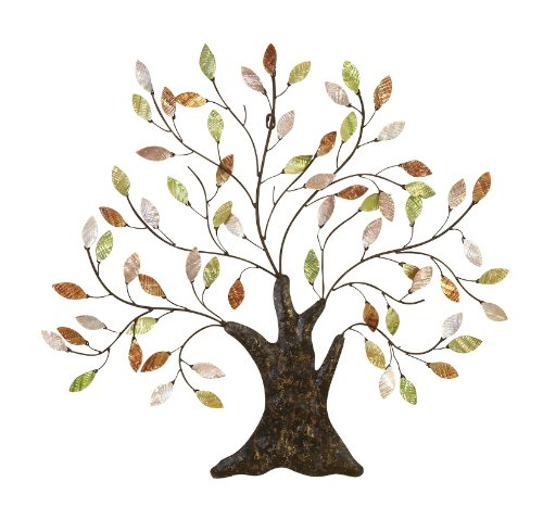 Tree Branch Wall Decor Metal : Beautiful elegant style metal tree branch of life wall art