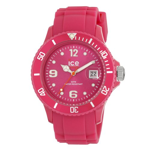 Ice-Watch Unisex Winter Honey Pink Analogue Watch SW.HP.U.S with Silicone Strap