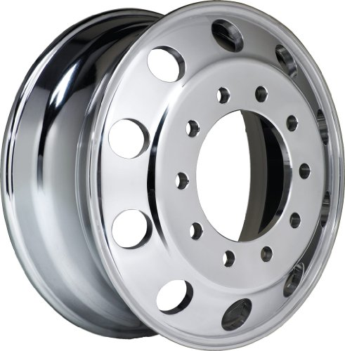 "Accuride 41644XP Accu-Lite Hub Piloted Aluminum Wheel 22.5"" x 8.25"" Polished Both Sides"