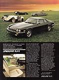 1986 Jaguar XJ-S: V-12 Engine, Jaguar Print Ad