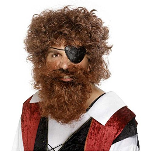 Deluxe Costume Brown Beard
