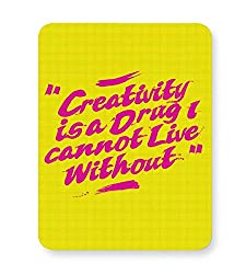 PosterGuy Mouse Pad - Creativity Creativity, Life, Pop art, Typography