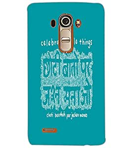 LG G4 CELEBRATE Back Cover by PRINTSWAG