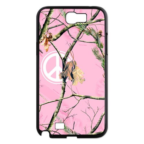 Hipster Camouflage Camo Tree Samsung Galaxy Note 2 N7100 Case Cover Pink For Girl