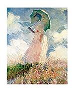 Legendarte Lienzo Donna Con Il Parasole di Claude Monet