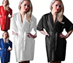 Ninex Luxury Nightwear Satin Dressing...