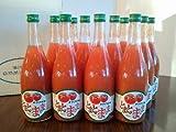 東白川村特産品 桃太郎トマト搾っただけの100%ジュース とまとのまんま12本箱入