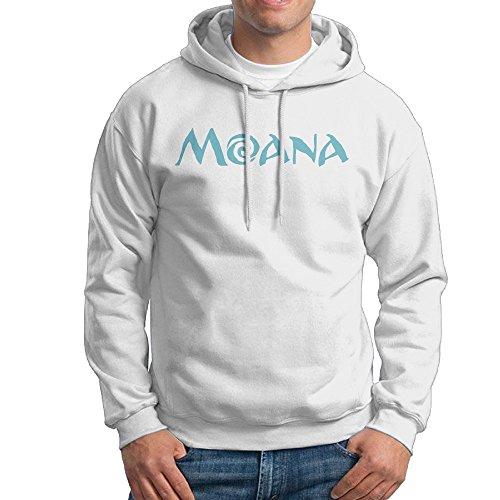 Lightweight 80's Juniors Men' Moana Logo Small Sweatshirts