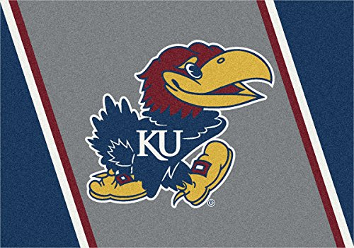 Kansas Jayhawks NCAA Milliken Team Spirit Area Rug (2'8