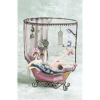"Bali Mantra bubble bath jewellery organizer (12.75"" Tall)"