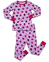 Leveret Elephant 2 Piece Pajama 6 Year
