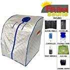 Far Infrared Portable Sauna w/ Ceramic Heater