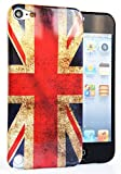 CASEiLIKE® - UK, British Flag Retro Vintage Glossy Snap-on hard case back cover for Apple 5G Touch / iPod Touch 5th Generation - 32GB 64GB - with SCREEN PROTECTOR 1pcs.