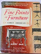 Fine Points of Furniture: Early American by…