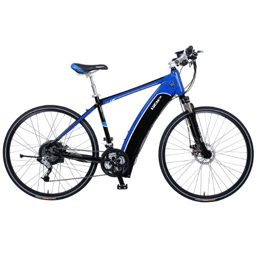 Currie Tech Hybrid Electric Bike - IZIP Bicycle E3 Ultra E Bike Black/Blue