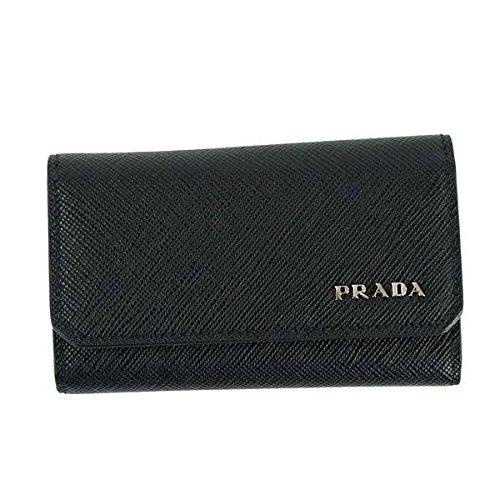 PRADA プラダ カードケース ブラック 2MC122 [並行輸入品]