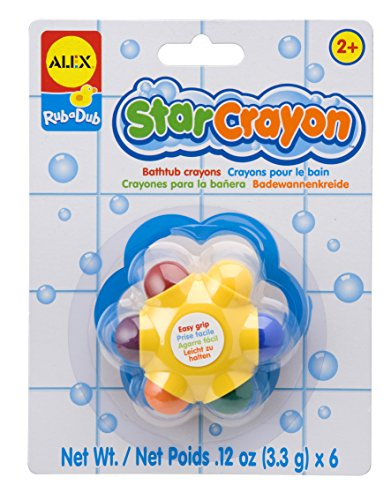 ALEX Toys Rub a Dub Star Crayon - 1