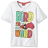 Rovio Angry Bird-camiseta Niños    Blanco blanco 10 años