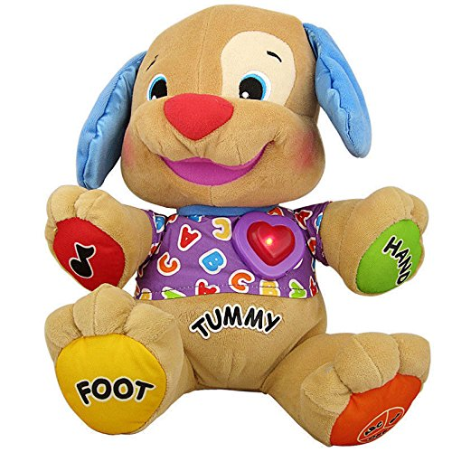 Lovely Kids Fisher Price Multi-Function Music Learning Dog Version Of Hearts Children Toys front-945965