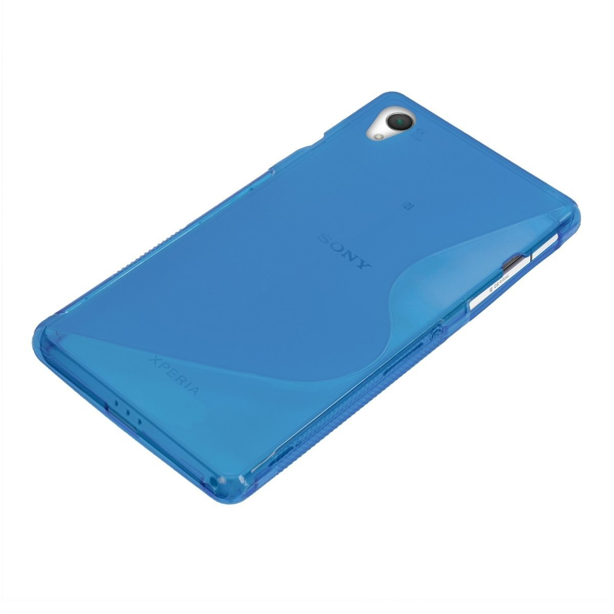 XPERIA Z2 グリップデザインケース TPU Cover Case 落下防止ソフトカバー