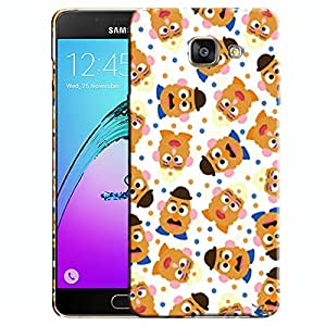 Theskinmantra Mustache Pigs Samsung Galaxy A7 (2016 Edition) Mobile back cover