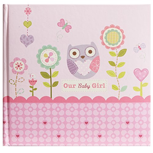 C.R. Gibson Stepping Stones Recordable Photo Album, Our Baby Girl (Discontinued by Manufacturer)