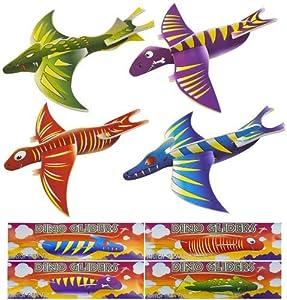 Dinosaur Planeadores Vuelo (Pack de 12)