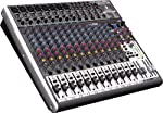 Behringer BEH X2222USB Premium 22-Input 2/2-Bus Mixer with XENYX Mic Preamps & Compressors by Behringer