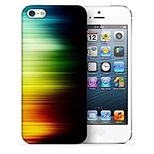 Snoogg Multicolor Pattern Design Printed Protective Phone Back Case Cover For Apple Iphone 5 / 5S