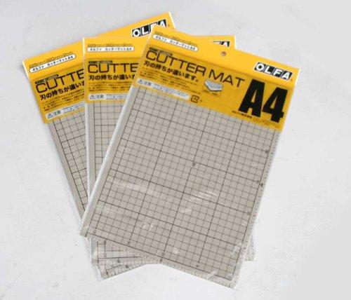 OLFA カッターマット A4 134B まとめ買い3枚セット