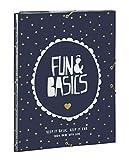 Fun&Basics - Carpeta folio, solapas y gomas (Safta 5 11528 068)