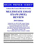 Rigos Primer Series Uniform Bar Exam (UBE) Review Series Multistate Essay Exam (MEE)