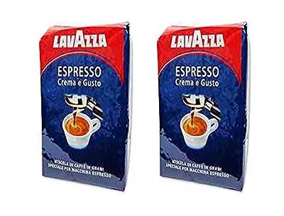 Lavazza Espresso Crema E Gusto -2 Bags = (2 X 2.2lb Bag Whole Beans)