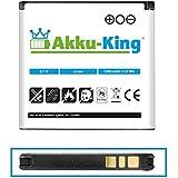 Akku-King Akku für Sony-Ericsson Xperia X8 E15i, Active ST17i, Mini ST15i, Mini pro SK17, SK17a, E16I, Vivaz, Cosmic U5i, WT19a, WT19i - ersetzt EP500 - Li-Ion 1350mAh