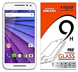 Moto G 3rd Generation (G3) Tempered Glass Screen Protector Screen Guard