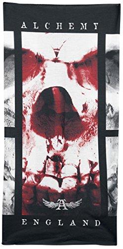 Alchemy England The Pact Face Sciarpa ad anello grigio/nero/rosso