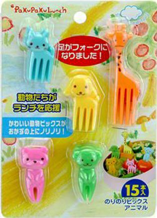Bento Decoration - Food Picks (Animal) 15pcs