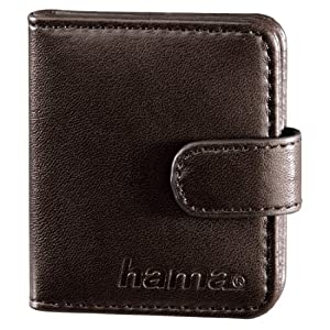 Hama 00095969 Vegas XS Memory Card Case for SD / MicroSD - Brown