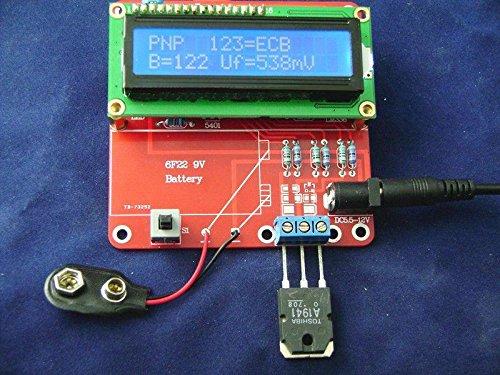 Capacitance Esr Inductance Resistor Lc Meter Tester Kit Npn Pnp Mosfet M168 Atmega168