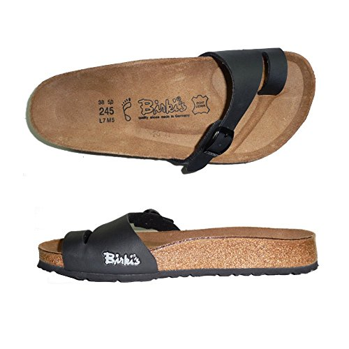 BIRKIS BIRKENSTOCK HOLLY INFRADITO DONNA ciabatte sandali NORMAL (37, NERO)