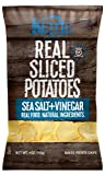 Kettle Real Sliced Potatoes, Sea Salt and Vinegar, 4-Ounce (Pack of 5)