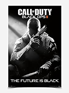 Posters: Call Of Duty Poster - Black Ops II, Cover (36 x 24 inches)