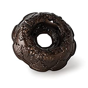 Nordic Ware Platinum Autumn Wreath Bundt Pan