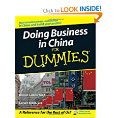 Doing Business in China For Dummies (9780470049297)