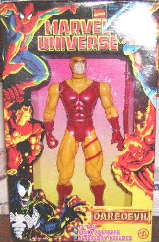 Buy Low Price Toy Biz Marvel Universe Daredevil 10″ Action Figure (Yellow and Red Costume) (B000JVA3X4)