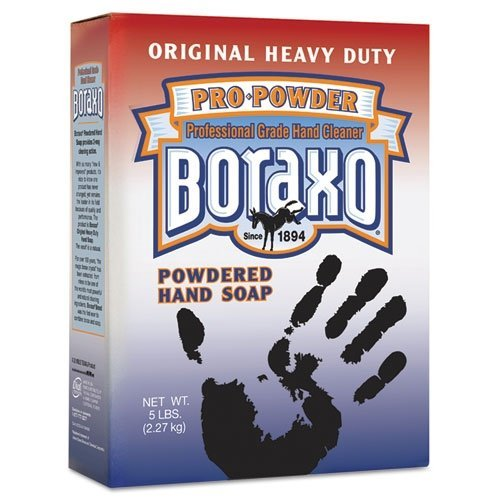 Dial 02203CT - Boraxo Powdered Original Hand Soap, Unscented Powder, 5lb Box (Dial Soap No Scent compare prices)