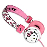 Hello Kitty Headphones + Mic - Bubble Bow Pink - Limited Edition
